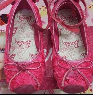 Girls Barbie Rose Shoes