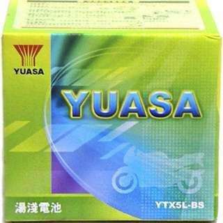 (請先詢價) 湯淺 YUASA YTX5L-BS 五號 機車電瓶