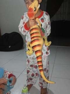 Big dinosaurs rubber