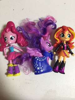 Twilight and Equestria Girls (Pack)