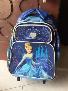 Tas trolley princess blue