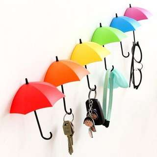 Cute Umbrella Wall Hook for keys