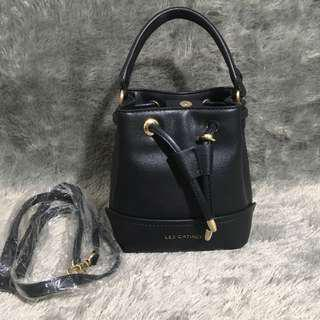 Les Catino Bucket Bag Tas Serut Hitam