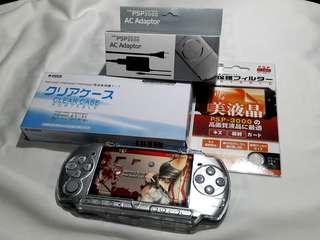 Silver PSP Slim 3000 4gb v6.60 Downloadable