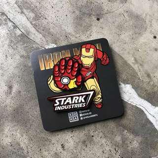 Enamel Pin Set Iron Man