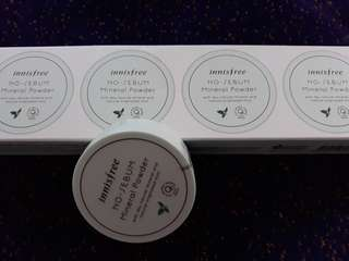 Innisfree no sebum powder 5gr