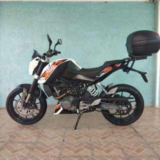 DUKE 200cc