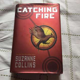 Catching fire by suzzane collins