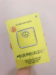 BUKAN BUKU DIET by alvinhartanto
