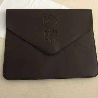 🚚 Leather Executive documents folder/Laptop Sleeve got 4pc