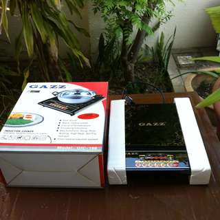 Gazz induction cooker. Slightly more than a year old. Seldom use and in good working condition.