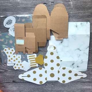 Kraft Box - 8 Assorted Gift Box