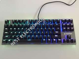 <代放> 全新雷柏v500RGB 彩光遊戲鍵盤 100% new VPRO Gaming Keyboard