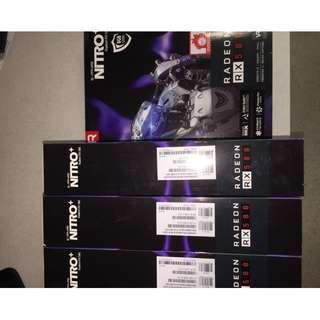 Sapphire NITRO+ Radeon RX 580 8GB GDDR5 (BRAND NEW)