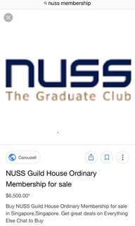 NUSS ordinary membership
