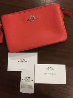 AUTHENTIC and NEW Coach Wristlet
