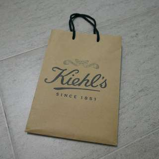 Hard Paper Bag - Kiehl's and Reusable Bag - Maccity