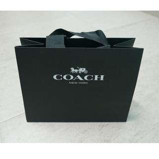 Hard Paper Bag - Coach