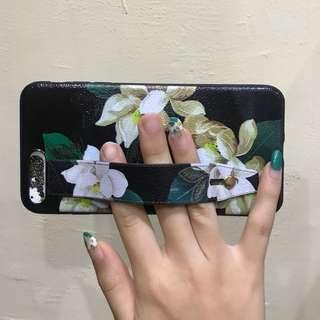Iphone 7+ Flower Strap case