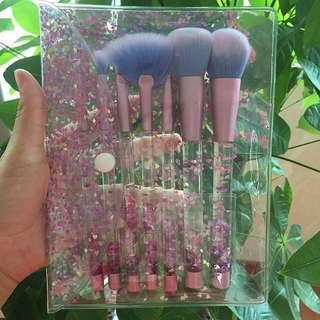Brush Make Up Set 7pcs (Free Pouch!)