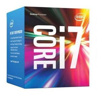 [Brand New] Intel Core i7-7700, 3.6 GHZ, 8MB Cache, LGA1151