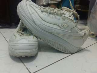 Skechers Shape Up White Shoes