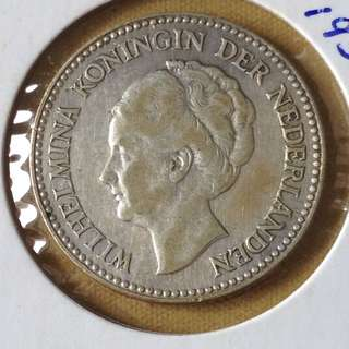 1930 Nederlands 1/2G coin
