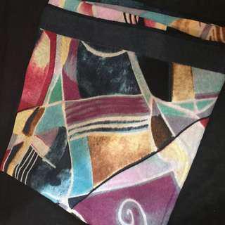 Jilbab square motif