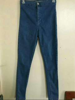 REPRICED! Authentic Topshop joni jeans