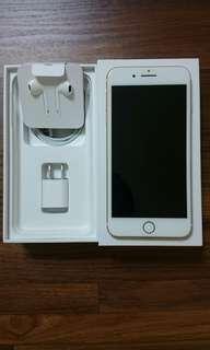 iphone 7 plus 128g 金色 近全新 11月機 保固中