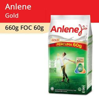 Anlene Gold 660g With 60g