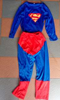 Superman Costume 5-6 y