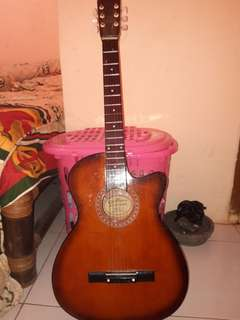 Gitar Allegro Serial No. 07 (Second Mulus GARING + Sarungnya)
