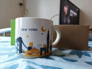 Starbucks You are Here NEW YORK Relief Mug