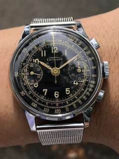 Guinand Chronograph 1930s 'serviced 'MAJOR REDUCED'