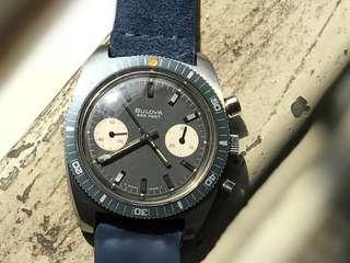 Vintage Chronograph Bulova 666 deep sea diver 1971