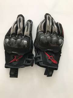 Alpinestars SMX-1 gloves medium