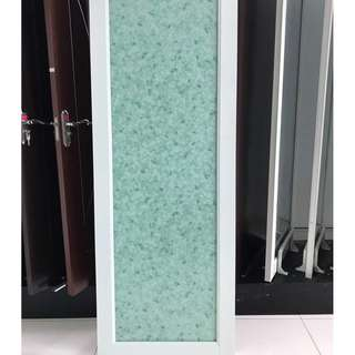 ALUMINIUM GLASS TOILET DOOR/PINTU TANDAS