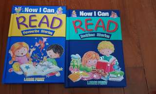 Children Books Now I can Read for Kindergarten to Primary