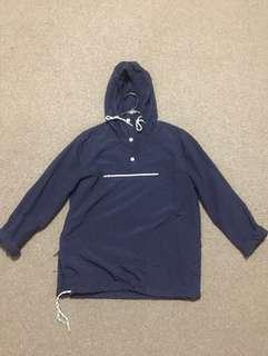Asos navy pocket hoodie