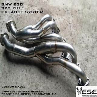 BMW E30 325 RACE HEADER FULL SET