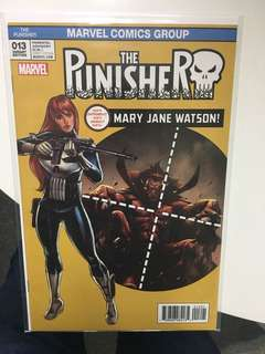 Punisher #13 Mary Jane Watson Variant (2016 11th Series) - Near Mint & Never Been Read Before