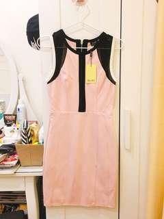 Bardot pink dress