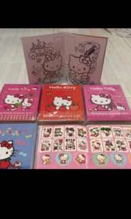 Mini Hello Kitty Coloring And Stickers Book Brand New /Ideal For Party Gift For Kids