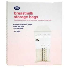 Boots milk storage bag