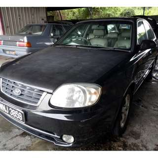 Hyundai Accent 1.5 Manual