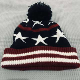 Beanie Red/Blue