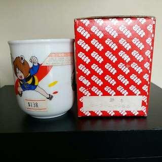 正品東映動畫鬼太郎日式陶瓷茶杯,日本製造,收藏超多年。