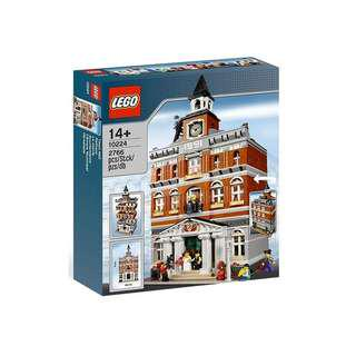 Lego Creator Expert Set Town Hall 10224 New Mint