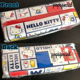 Last Pencil Pouch @$15.80 Hello Kitty White Pencil Case